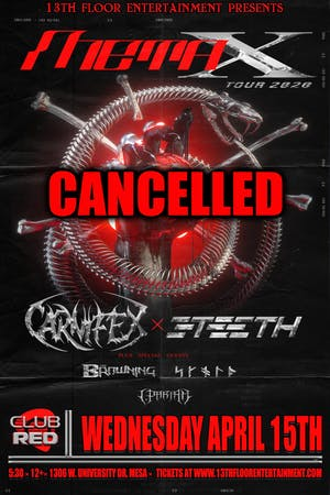 The Meta X Tour 2020 Featuring Carnifex & 3Teeth