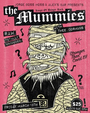 The Mummies with special guests Thee Cormans