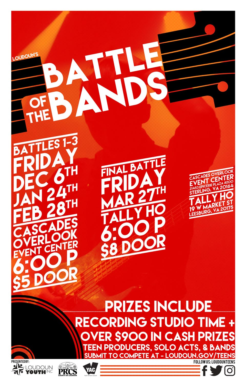 Loudoun Youthfest's Battle of the Bands - Final Battle!