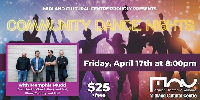 Community Dance Nights with Memphis Mudd