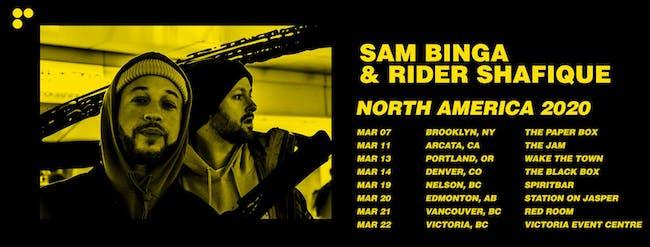 Sam Binga & Rider Shafique