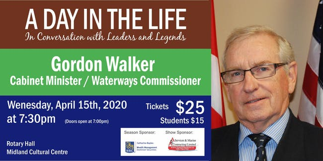 A Day in the Life with Gordon Walker