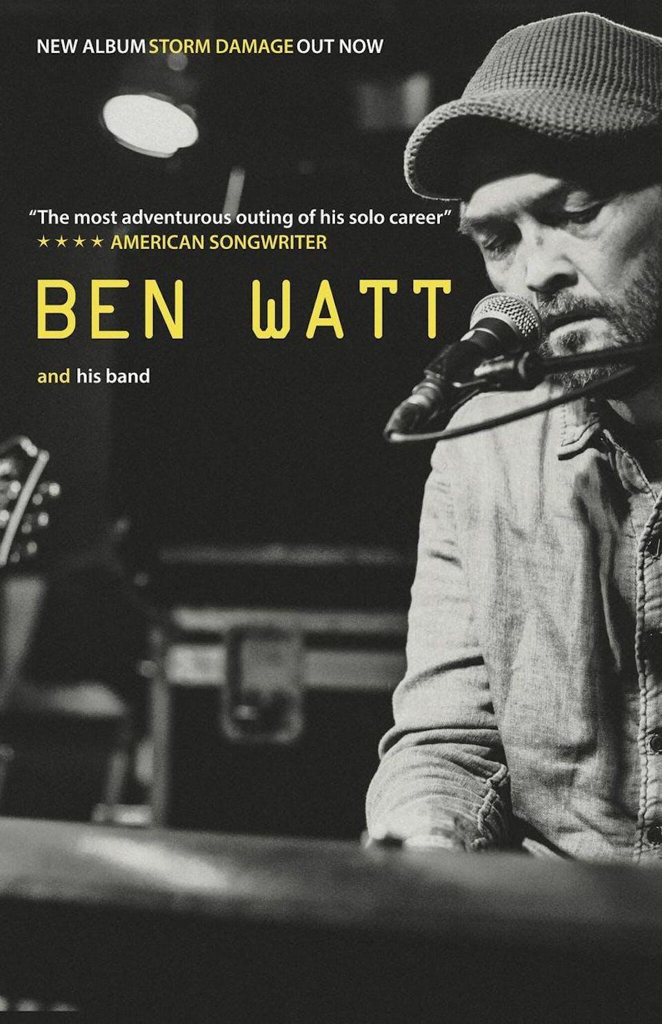 POSTPONED | Ben Watt