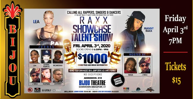 Raxx Showcase & Talent Show