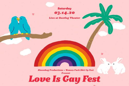 LOVE IS GAY Fest 2020 feat. Polartropica's 'Dreams Come True' Album Release