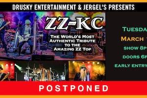 POSTPONED - ZZ-KC - A Tribute to ZZ Top