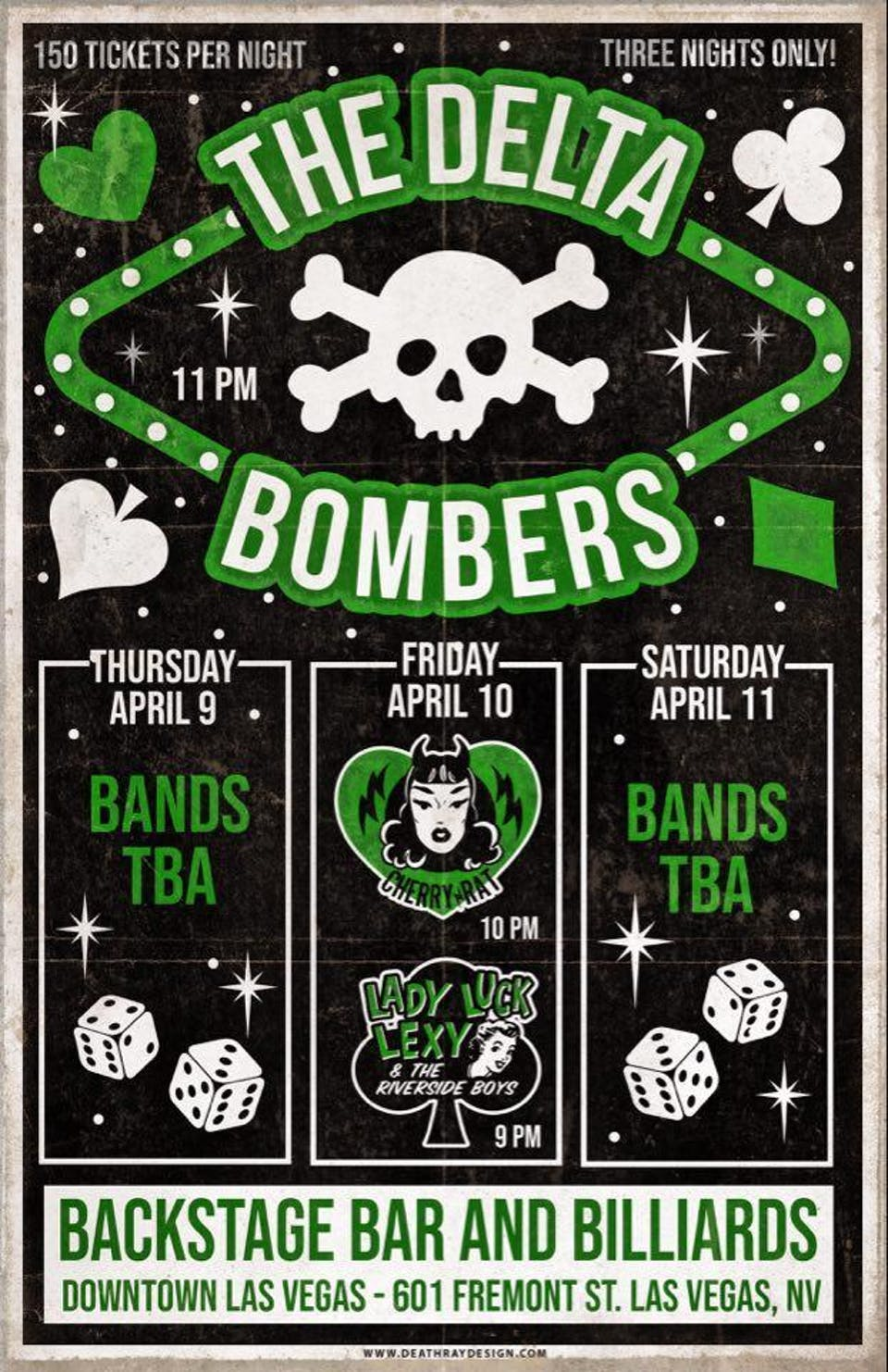 The Delta Bombers Thursday
