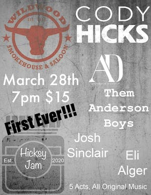 Cody Hicks: Hicksy Jam