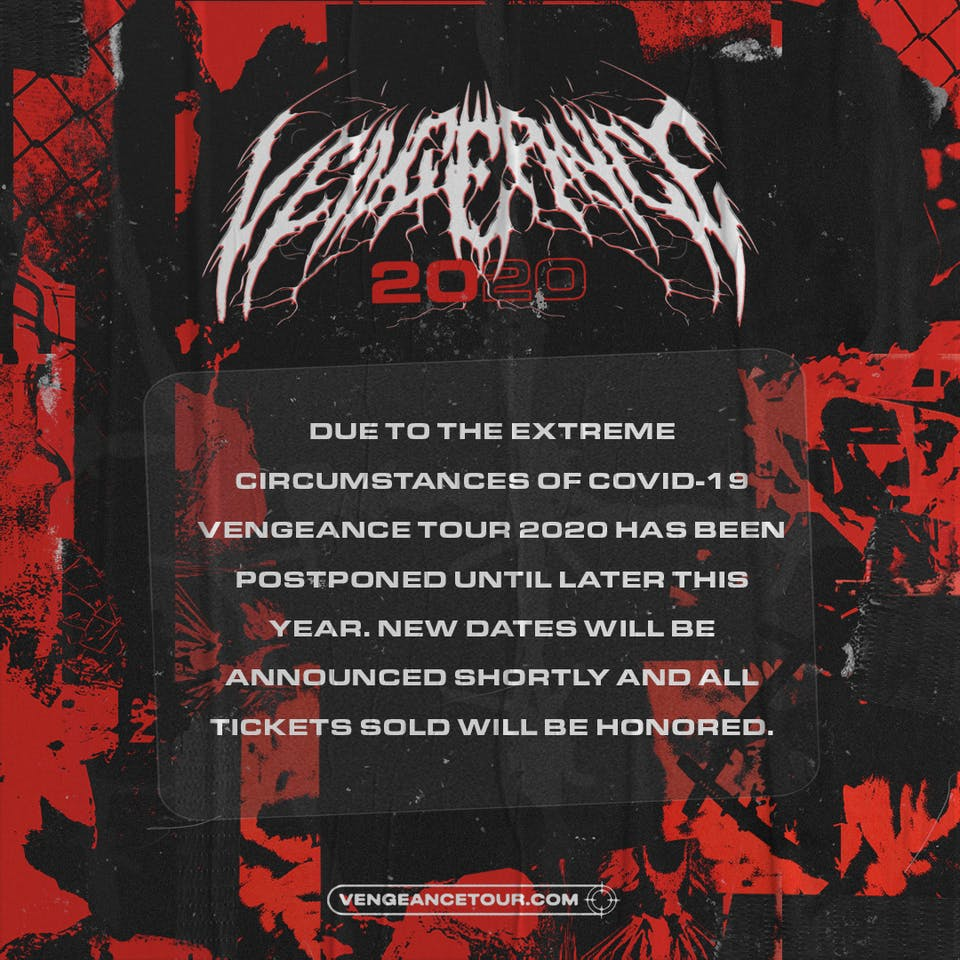 Vengeance 2020 feat.  Attila + Xavier Wulf