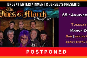 POSTPONED - The Ides of March featuring Jim Peterik
