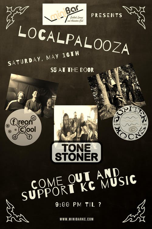 Freon Cool // Jupiter and the Moons // Tone Stoner