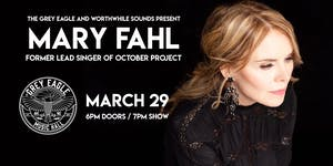 POSTPONED UNTIL 10/11: Mary Fahl (former lead singer of October Project)