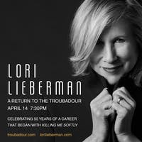 LORI LIEBERMAN: A Return to the Troubadour---POSTPONED to Sept 1, 2020