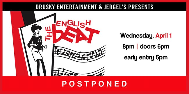 POSTPONED - The English Beat