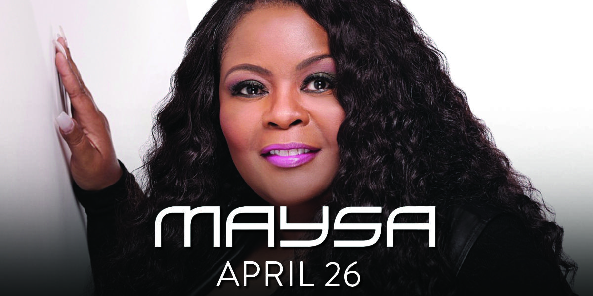 Maysa: 25th Anniversary of First Studio Album (8:30pm Show)