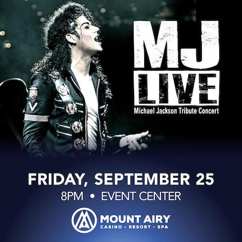 POSTPONED to Sept 25: MJ Live
