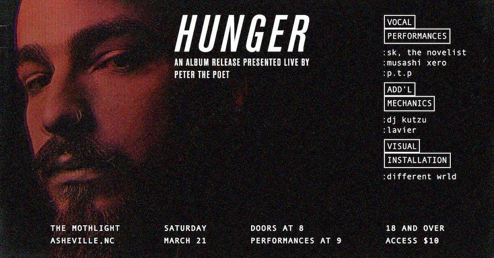 P.T.P - 'Hunger' - Album Release Show