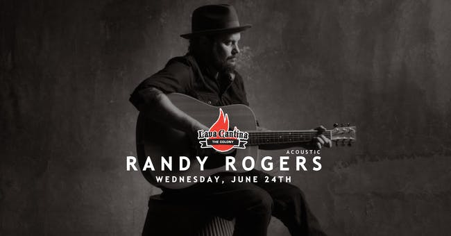 Randy Rogers Acoustic Performance