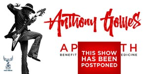 POSTPONED: Music is the Medicine  with Anthony Gomes