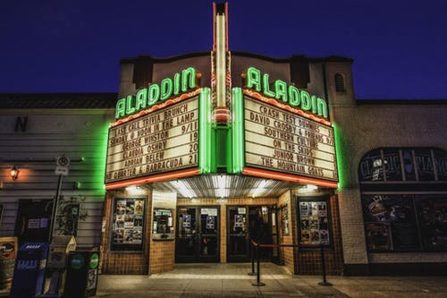 Support the Aladdin Theater during the Covid-19 shutdown