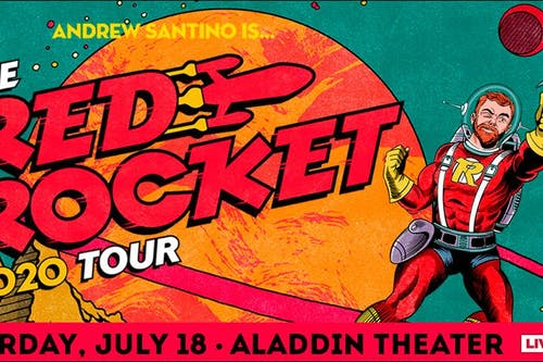 SHOW POSTPONED, STAY TUNED FOR UPDATES: Andrew Santino: The Red Rocket Tour