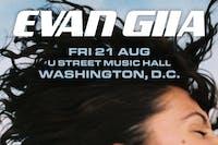 EVAN GIIA (live) - (NEW DATE)
