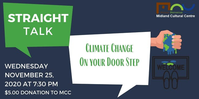 Straight Talk: Climate Change - On Your Door Step