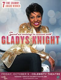 Gladys Knight - RESCHEDULED DATE (3/20 TICKETS HONORED)
