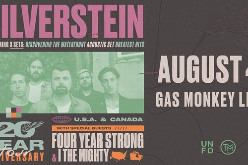 Silverstein: 20 Year Anniversary Tour - RESCHEDULED!