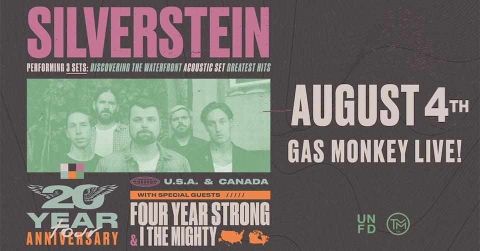 Silverstein: 20 Year Anniversary Tour - RESCHEDULED!