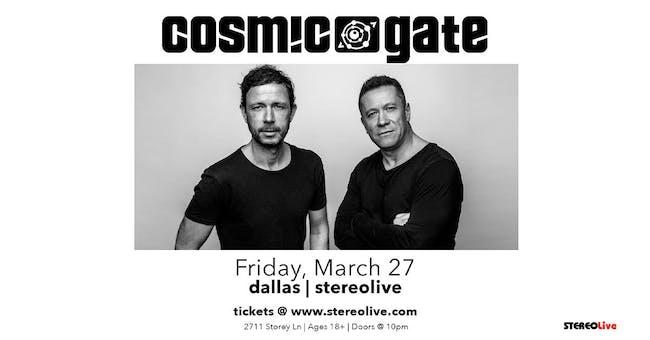Cosmic Gate - Stereo Live Dallas