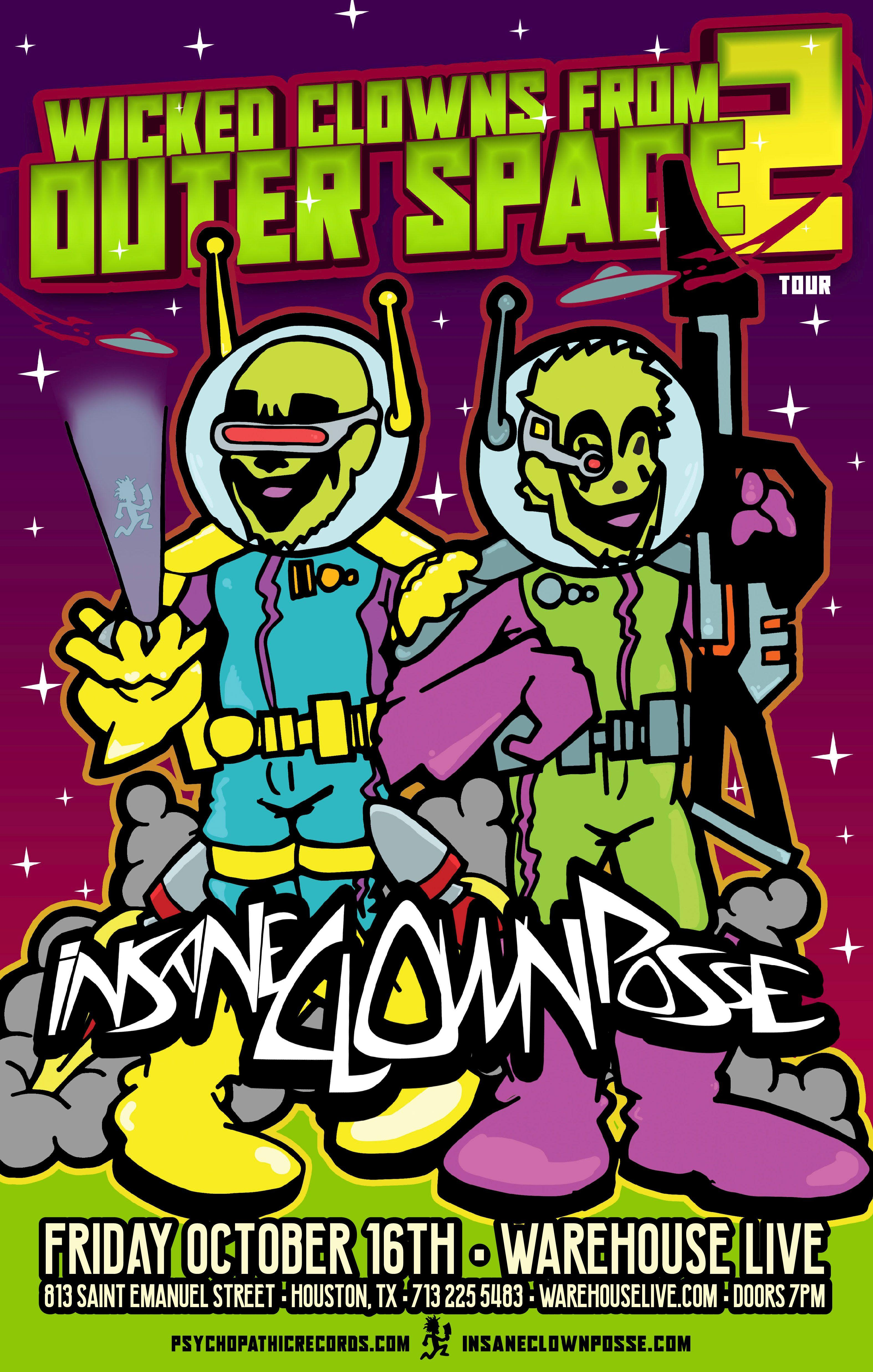INSANE CLOWN POSSE - WICKED CLOWNS FROM OUTER SPACE 2 TOUR
