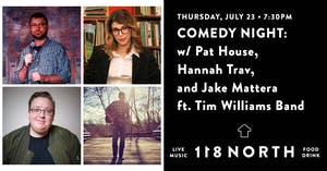 *RESCHEDULED TO 7/23* Music & Comedy Night