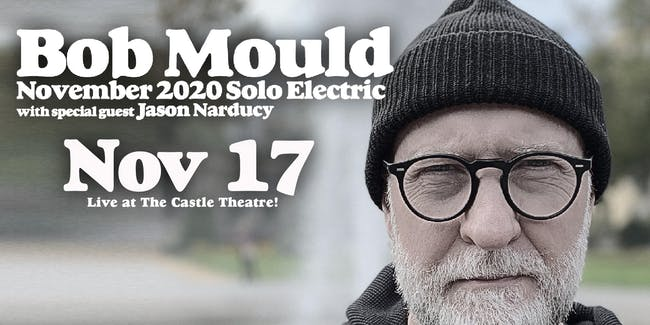 Bob Mould: 2020 Solo Electric Tour