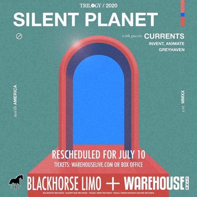 CANCELLED: SILENT PLANET - TRILOGY 2020