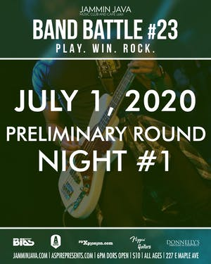 Jammin Java's Mid-Atlantic Band Battle #23 - Night 1