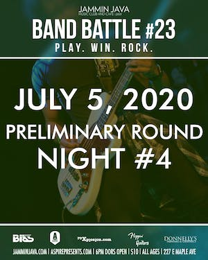 Jammin Java's Mid-Atlantic Band Battle #23 Night 4