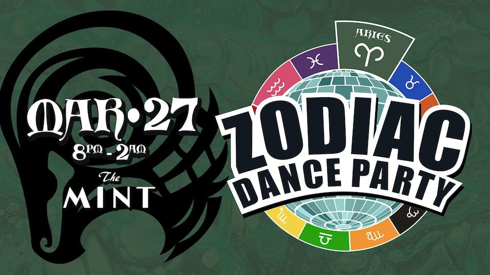 ONLINE: ZODIAC DANCE PARTY, Celebrating Aries! w. DJ Hot Tub Johnnie