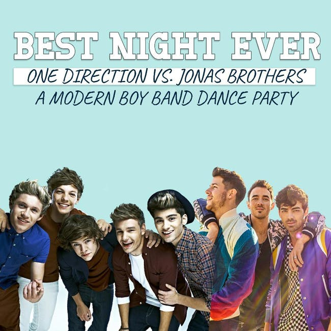 Best Night Ever: One Direction vs Jonas Brothers