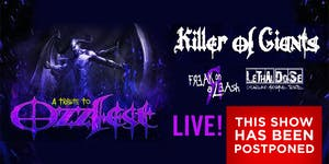 POSTPONED: A Tribute to OzzFest