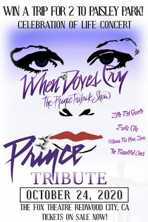 AT THE FOX THEATRE - WHEN DOVES CRY - THE PRINCE TRIBUTE SHOW