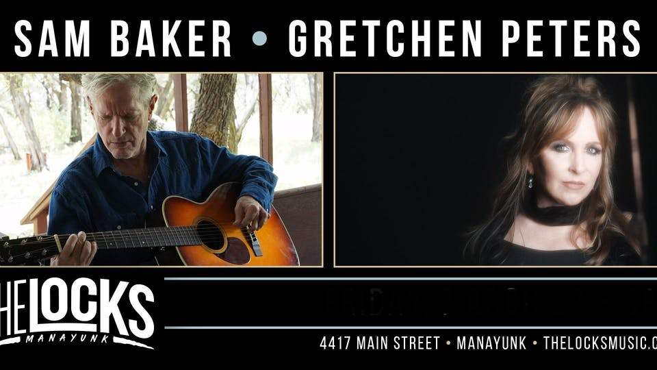 Sam Baker and Gretchen Peters Co-Bill