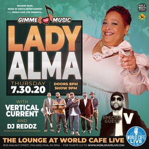 Lady Alma {RESCHEDULED FROM 4/30}