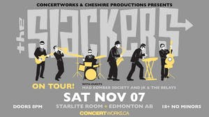 The Slackers w/ Mad Bomber Society and JK & The Relays