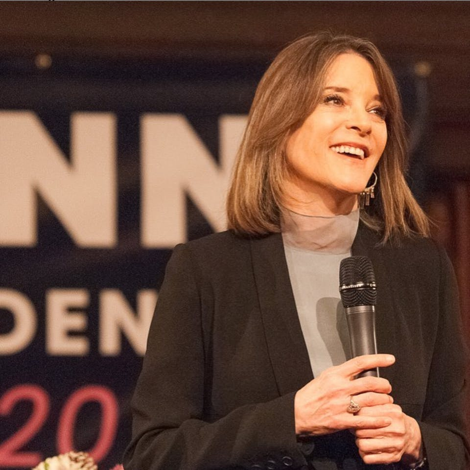 Running for President & Finding Hope During Crisis w/Marianne Williamson