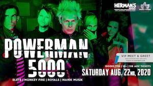 Powerman 5000 Live at Hermans Hideaway(New date announced)