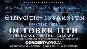 Eluveitie & Insomnium w/ Infected Rain