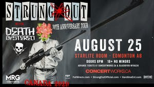 Strung Out (30 YR Anniversary) w/guests Death By Stereo + More TBA