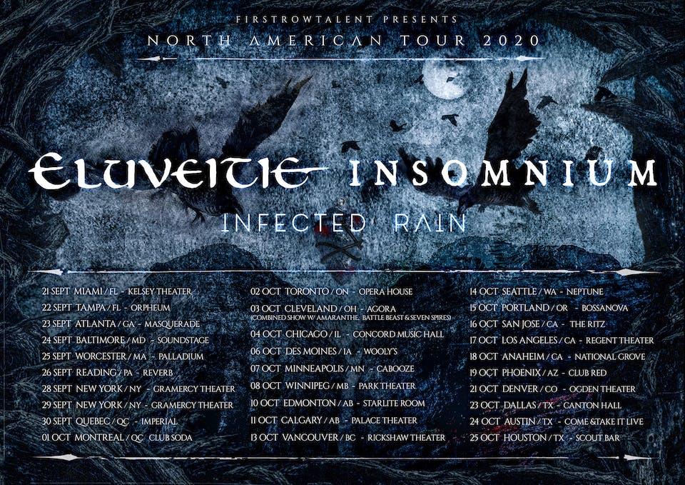 CANCELED: Eluveitie / Insomnium