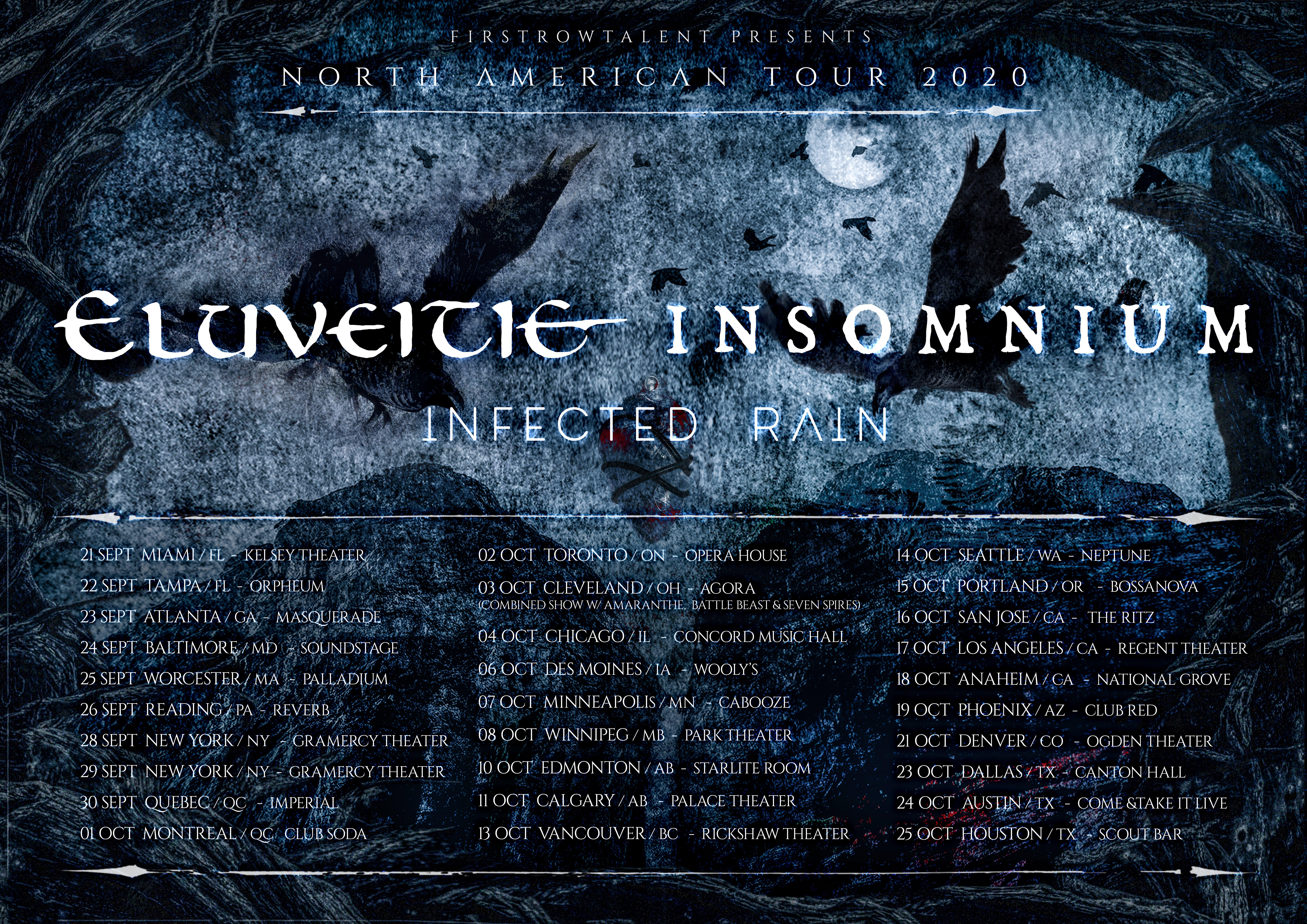 Eluveitie / Insomnium